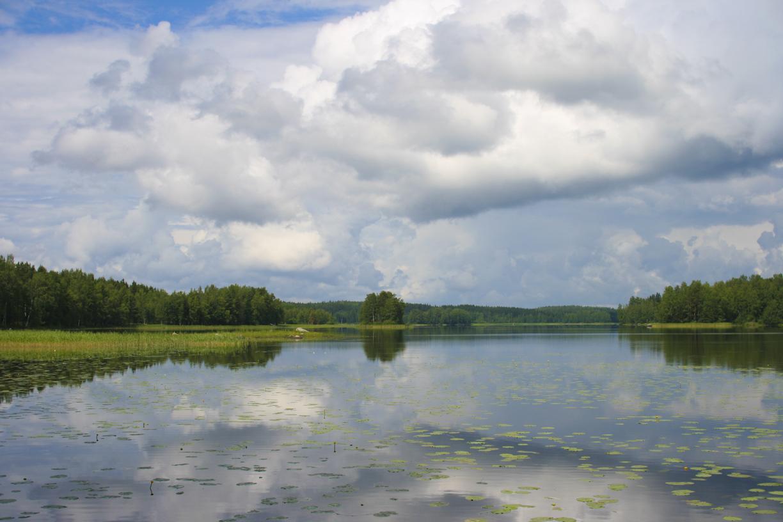 Järvimaisema Lammilla